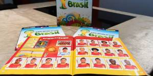 Foot : Presentation Panini World Cup  Brasil 2014